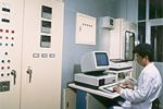 Control Center The computer room to maintain a clean culture room.